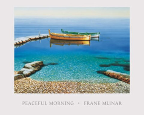 Framed Peaceful Morning Print