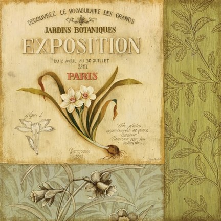 Framed Botanical Exhibit II Print