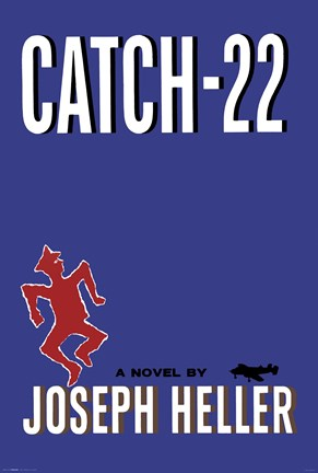Framed Classic Book Covers - Catch-22 Print