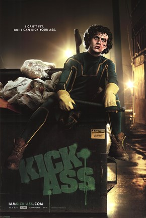 Framed Kick Ass - Kick-Ass Print