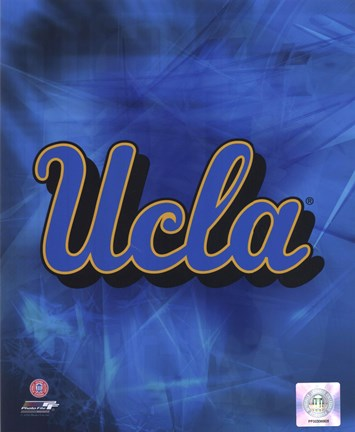 Framed 2010 UCLA Bruins Logo Print