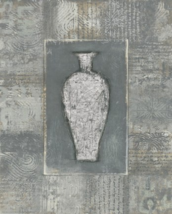 Framed Etched in Stone II Print