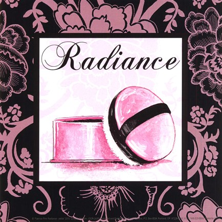 Framed Fashion Pink Radiance - petite Print