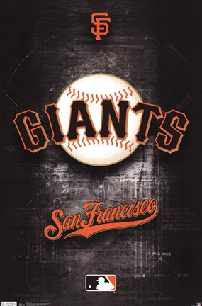 Framed Giants - Logo 11 Print