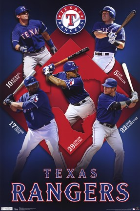 Framed Rangers - Collage 11 Print