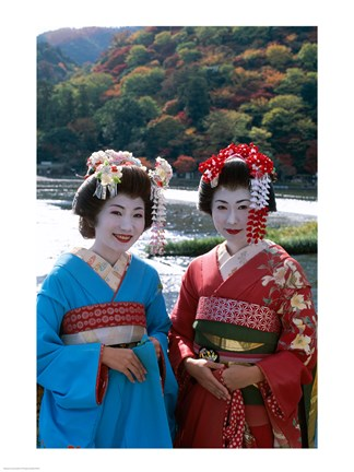 Geishas by a River