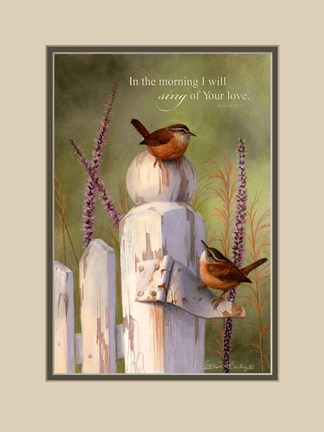 Framed In The Morning Print