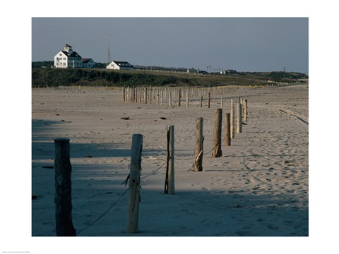 Framed Coast Guard Beach Cape Cod National Seashore Massachusetts USA Print