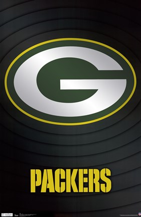 Framed Packers - Logo 11 Print