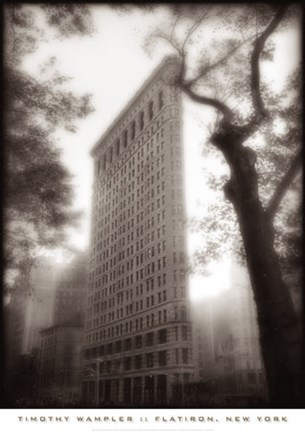 Framed Flatiron, New York Print