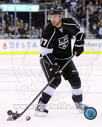 Framed Jeff Carter 2012-13 Print