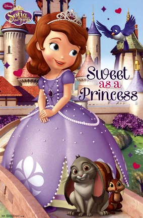 Framed Sofia the First - Princess Print