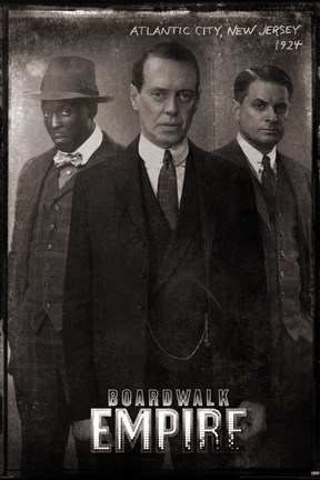 Framed Boardwalk Empire - Vintage Print