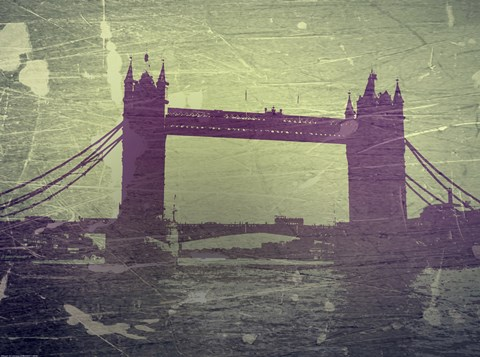 Framed Tower Bridge London Print