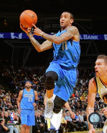 Framed Monta Ellis 2013-14 basketball Print