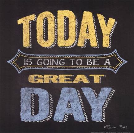 Framed Great Day Print