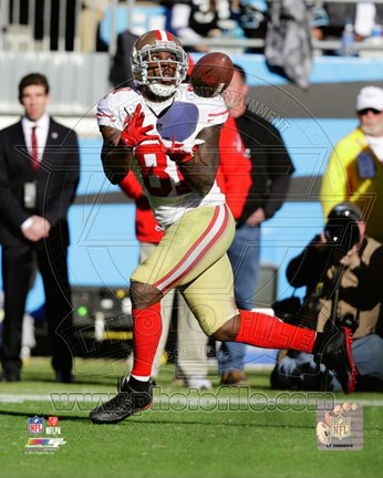 Framed Anquan Boldin 2013 Playoff Action Print