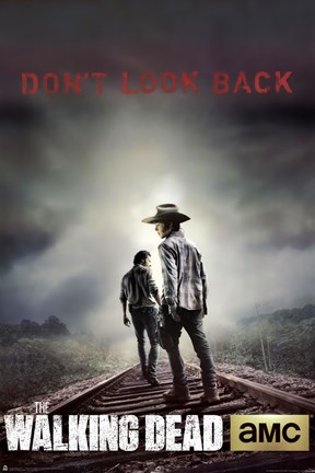 Framed Walking Dead - Season 4 Don't Look Back Print