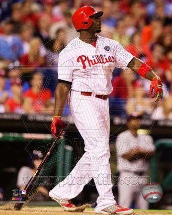 Framed Ryan Howard 2014 Print