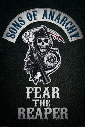 Framed Sons of Anarchy - Fear the Reaper Print