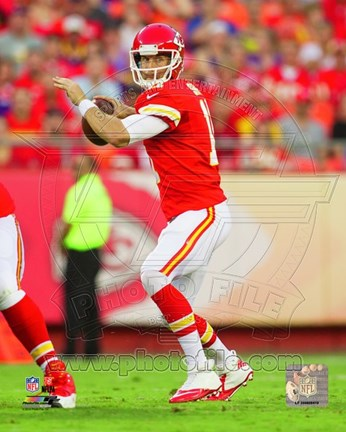 Framed Alex Smith 2014 Action Print