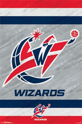 Framed Washington Wizards - Logo 14 Print