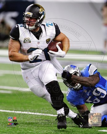 Framed Toby Gerhart 2014 Action Print