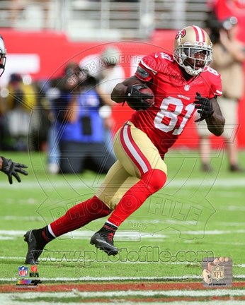 Framed Anquan Boldin 2014 Action Print