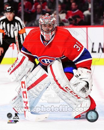 Framed Carey Price 2014-15 Action - goalie Print