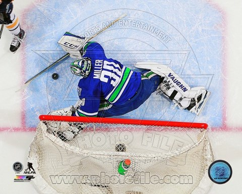 Framed Ryan Miller 2014-15 Action Print