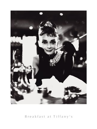 Framed Breakfast At Tiffany's I Print