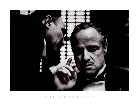 Framed Godfather Print