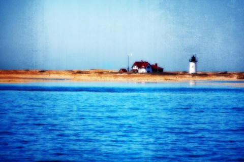 Framed Race Point Lighthouse Provincetown MA Print