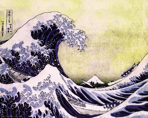 Framed Great Wave Print