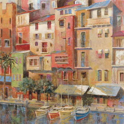 Framed Painted Palermo Print