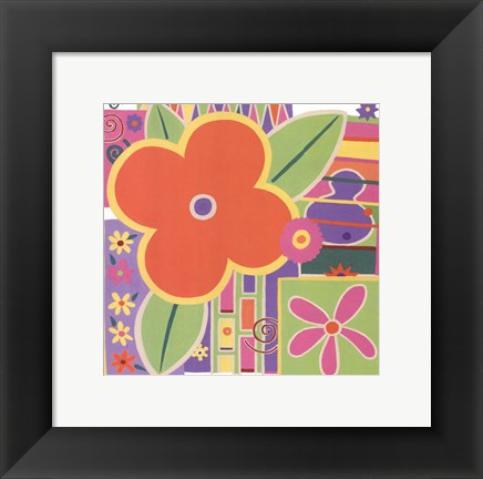 Framed Flower Power Print