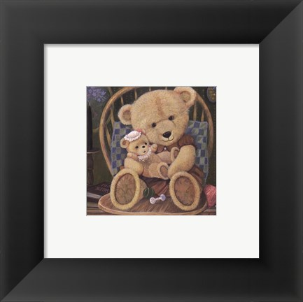 Framed Bear Lullaby Print