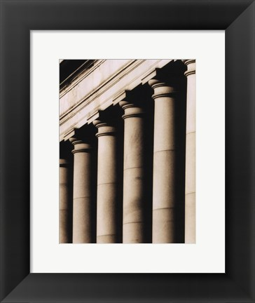 Framed Architecture II Print