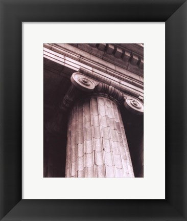 Framed Architecture III Print
