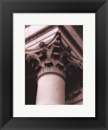 Framed Architecture IV Print