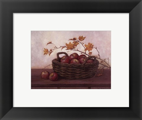 Framed Winesap and Maples Print