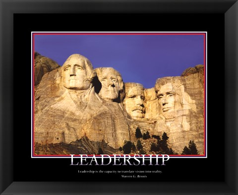 Framed Patriotic-Leadership Print