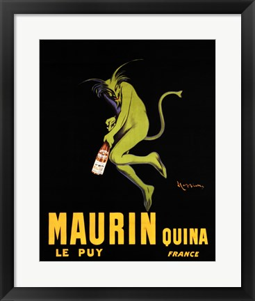 Framed Maurin Quina Print
