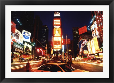 Framed New York Times Square Print