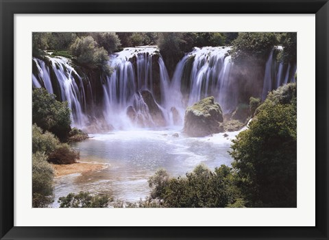 Framed Waterfall Print