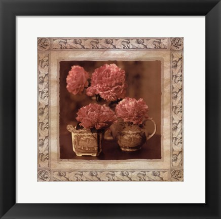 Framed Imperial Peony II Print