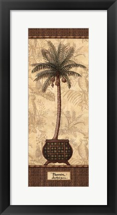 Framed Botanical Palm II Print