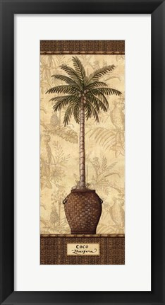 Framed Botanical Palm III Print