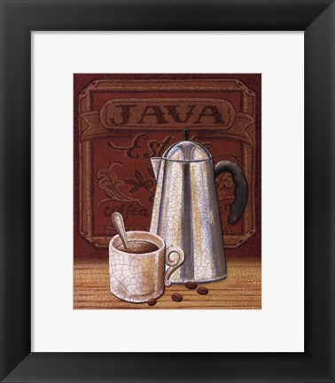 Framed Cafe Mundo III Print