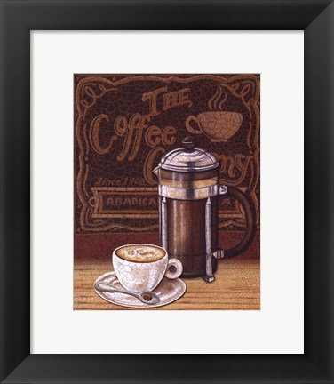 Framed Cafe Mundo IV Print